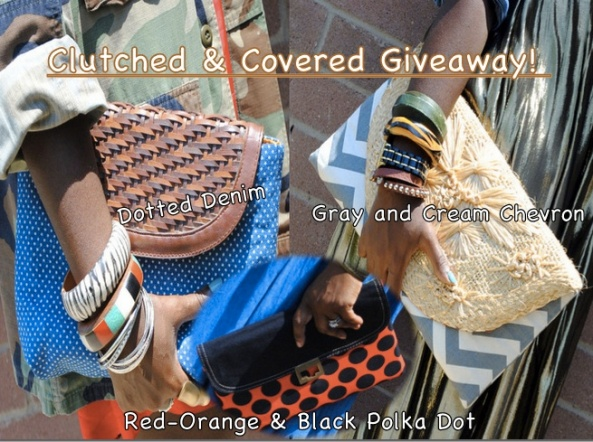 Clutched and Covered Giveaway!